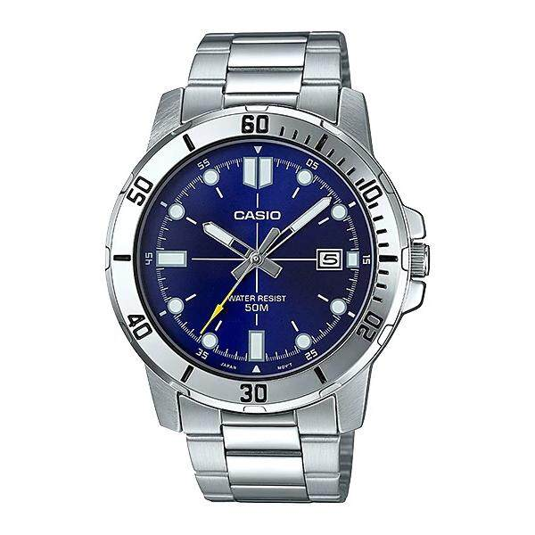 (2 YEARS WARRANTY) Casio Original MTP-VD01D-2EV Dress Analog-Gent's Watch