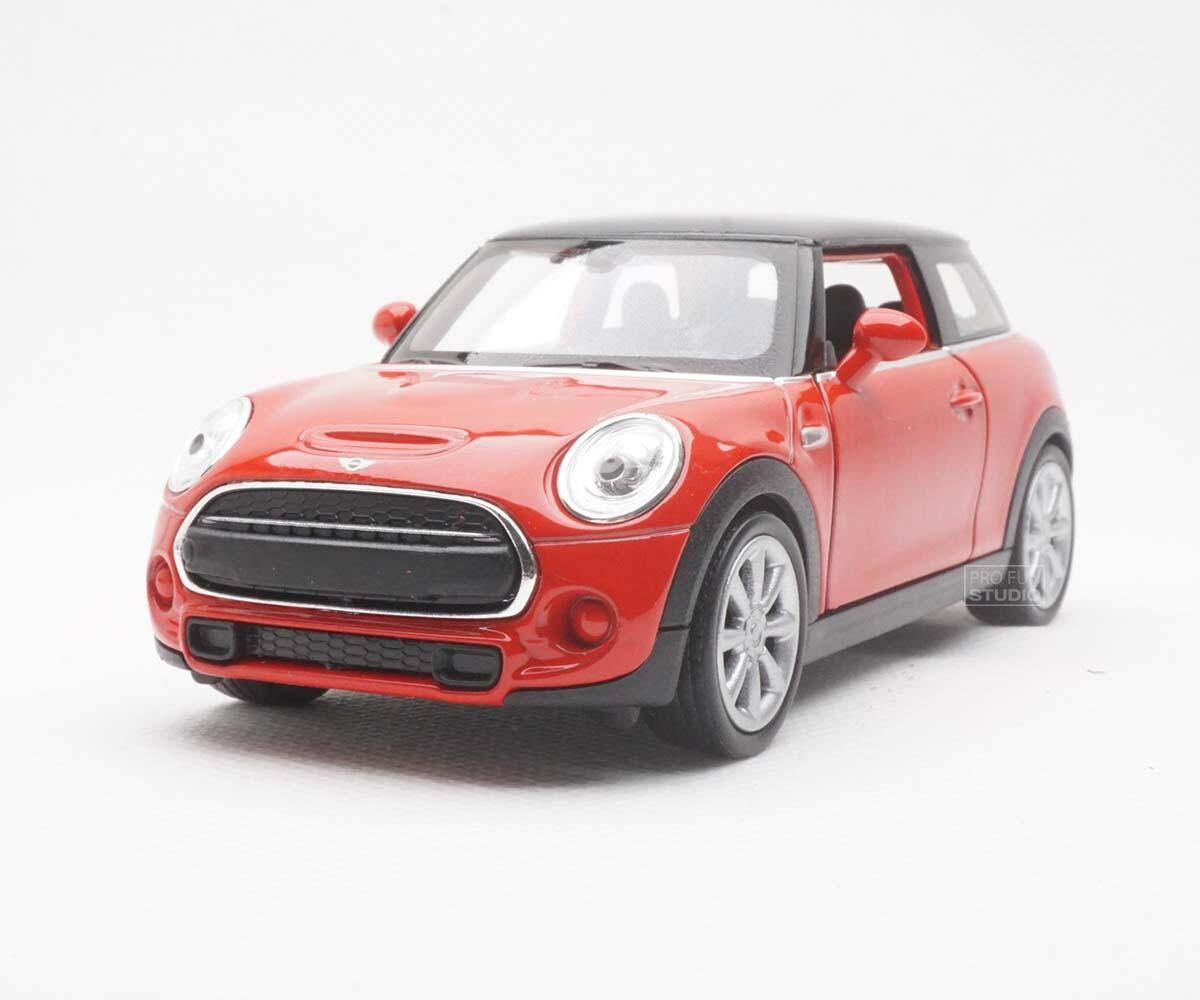Welly New Mini Cooper Mini Hatch 1/36 1/32 1/34 Diescat Car model - Red
