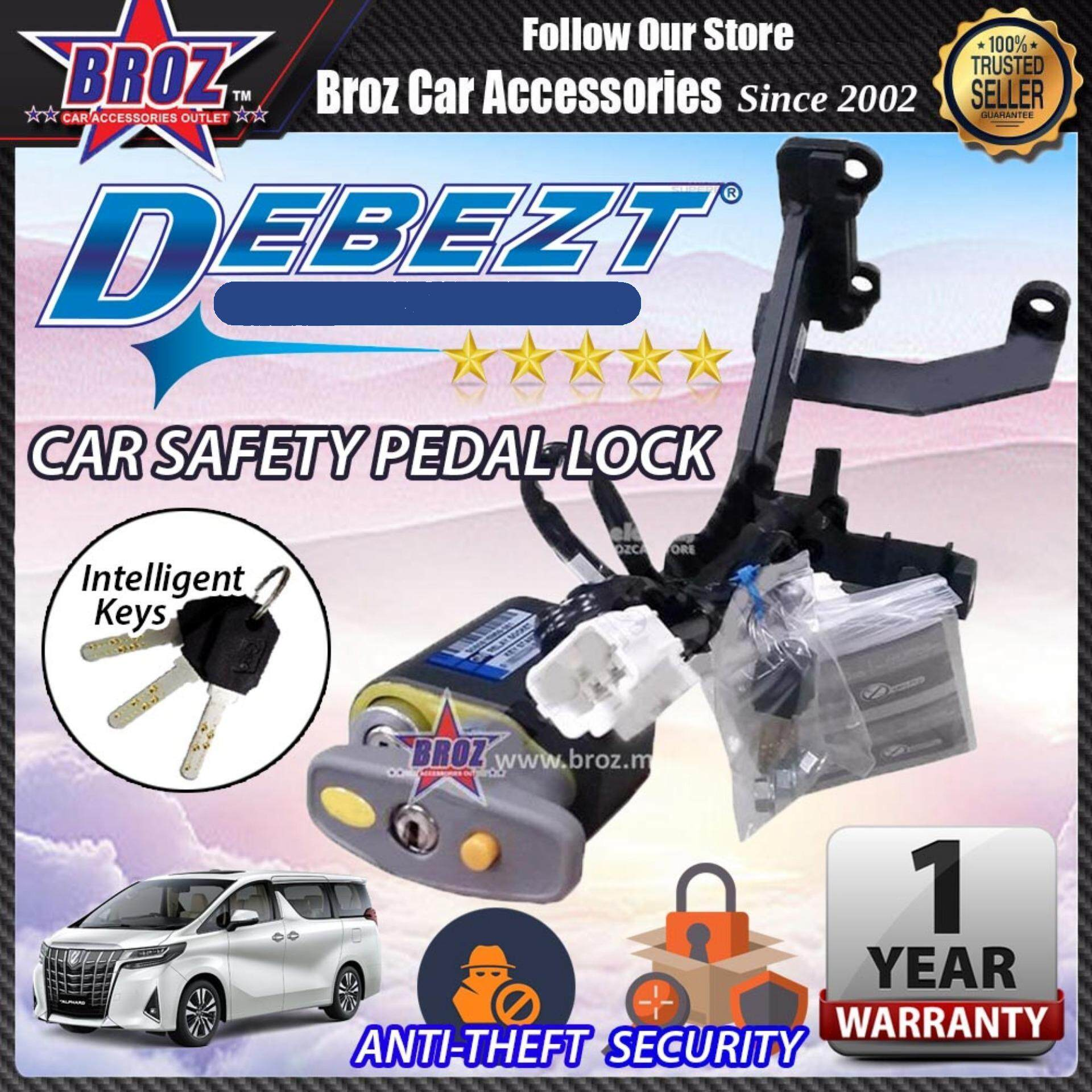 Vellfire 2015-2017 Debezt Auto Push Start Anti Theft Double Pedal Lock