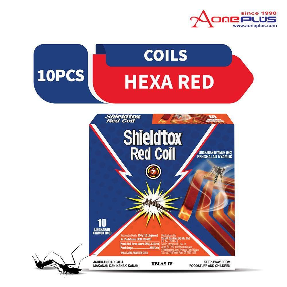 Shieldtox Hexagon Mosquito Coil 10 pieces