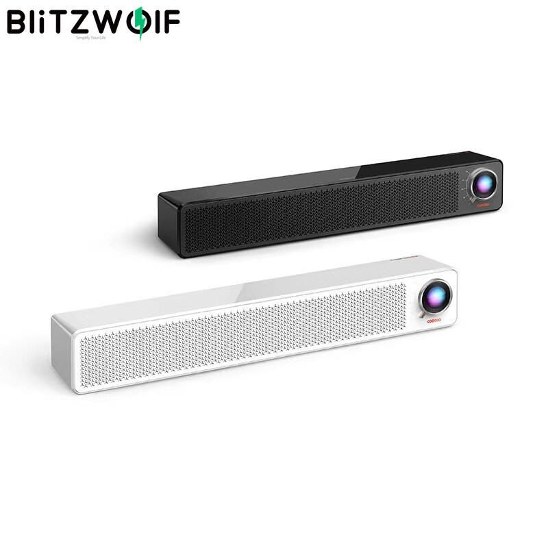 BW-SOD1 Blitzwolf Loa Âm Thanh TV 5V 1A Loa Bluetooth 5.0, Âm Thanh Tăng Cường 2.2 Âm Trầm Mạnh Mẽ 4 Chiếc Với Đèn RGB