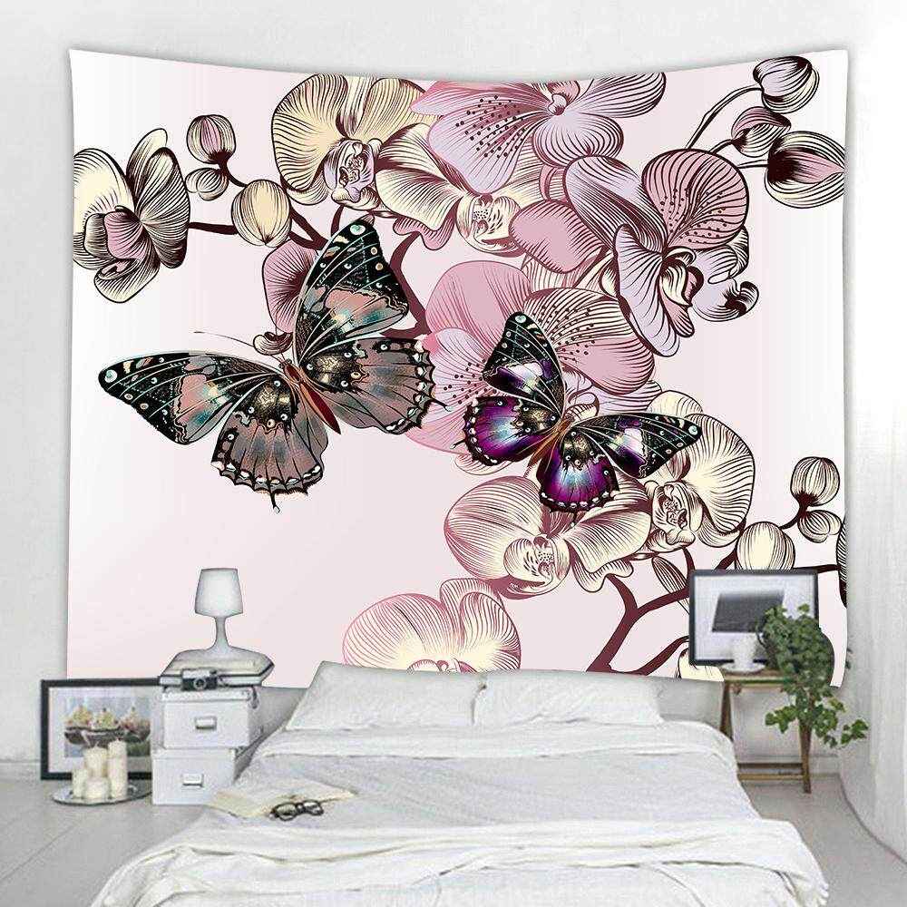 BUTTERFLY   3D PRINTING HOME WALL HANGING TAPESTRY FOR DECORATION