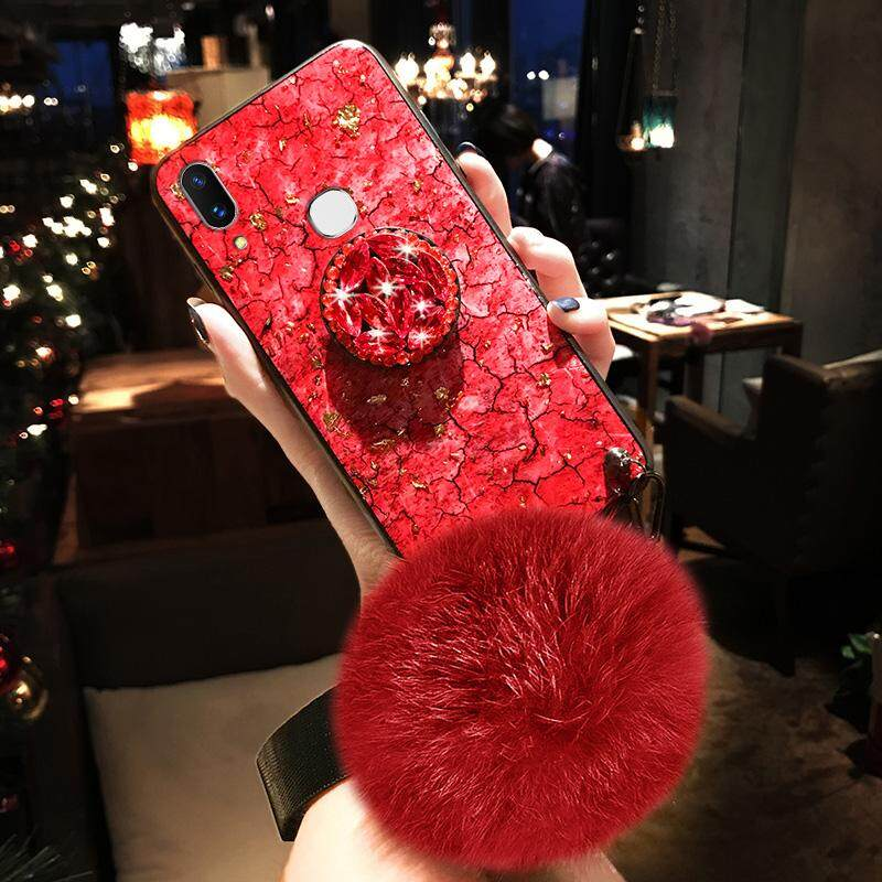 Luxury ฟอยล์สีทอง Bling โทรศัพท์หินอ่อนสำหรับ VIVO Y91/VIVO Y95/VIVO Y93 กรณีนุ่ม TPU สำหรับ VIVO y91/VIVO Y95/VIVO Y93 Glitter Coque