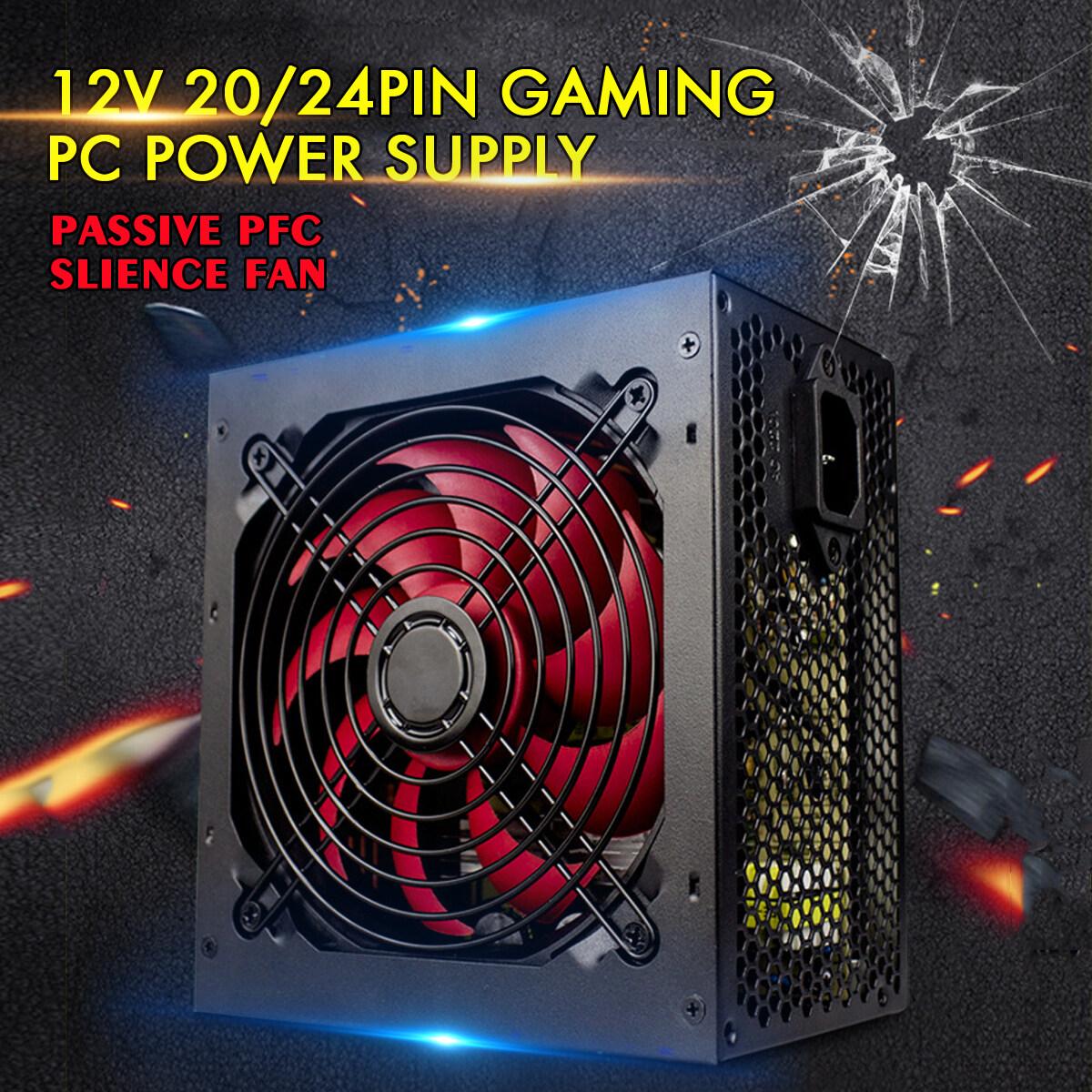 Quiet 650W for Intel AMD PC 12V ATX PC Power Supply SLI PCI-E 12CM Fan High Quality Computer Power Supply For BTC