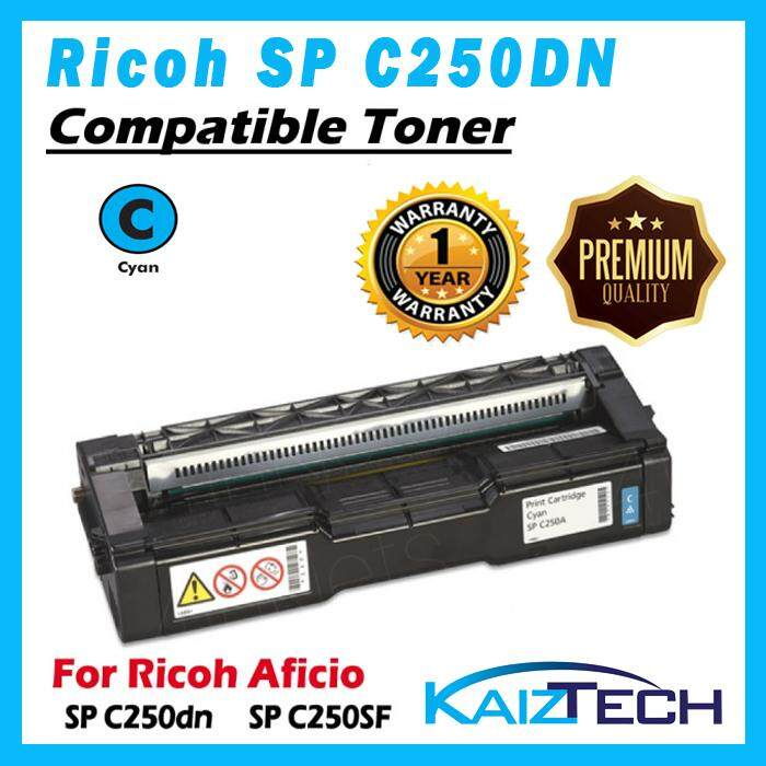 AAA Super Grade Ricoh SP C250DN, SPC 250SF CYAN Compatible Toner for SPC250DN , SPC250SF