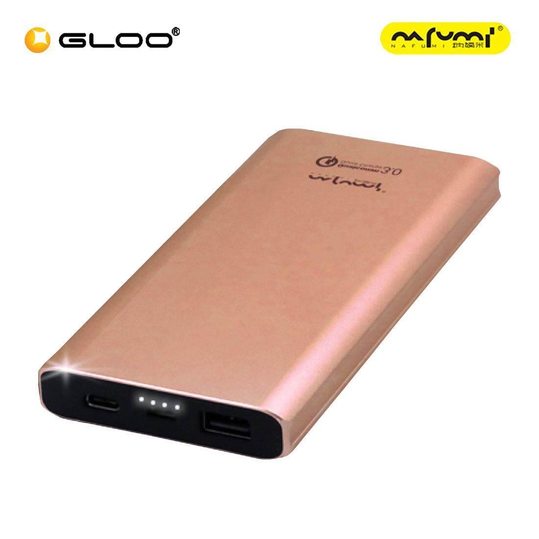 Nafumi F1 12000Mah Power Bank [FREE SHIPPING] (Grey/ Gold/ Rose Gold)