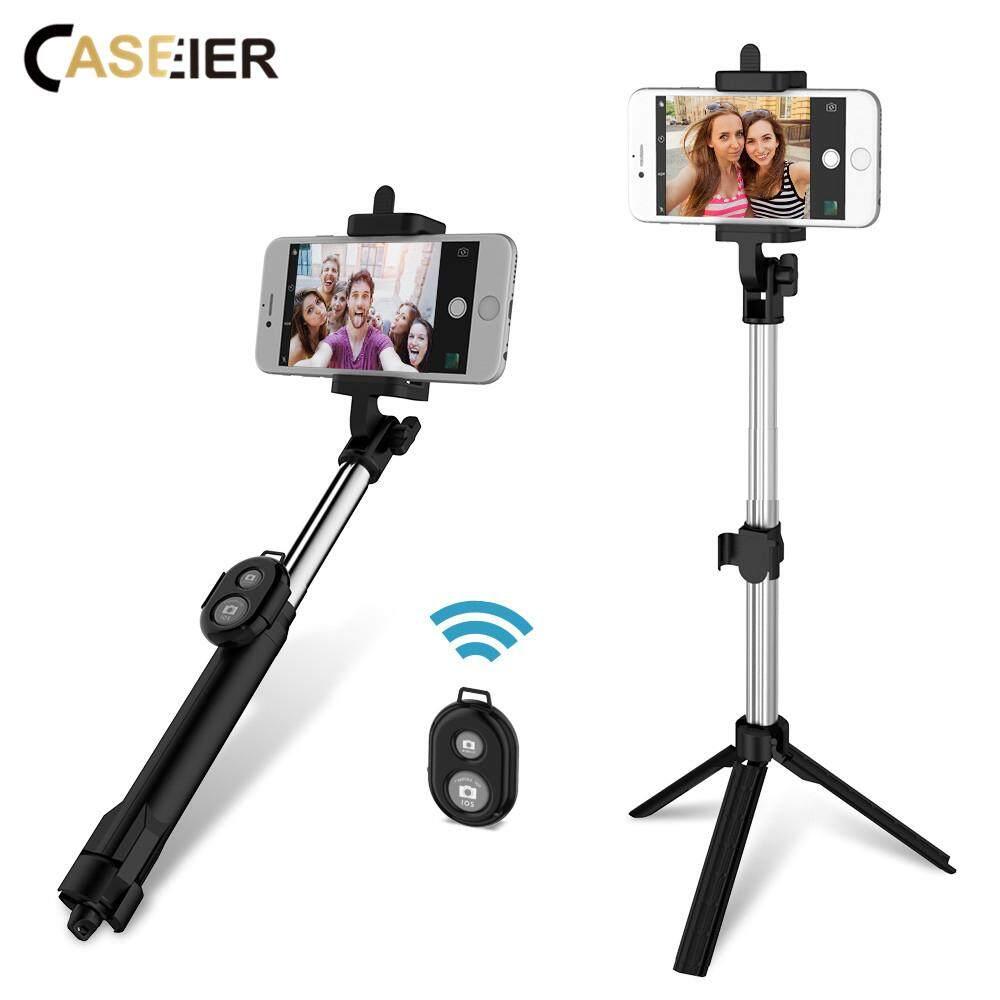 CASEIER Bluetooth Selfie Tripod với điện thoại di động cho iPhone 8 7 dành cho Xiaomi Rdemi Note 7 Di Động Từ Xa Chụp Hình Selfie gậy chụp hình