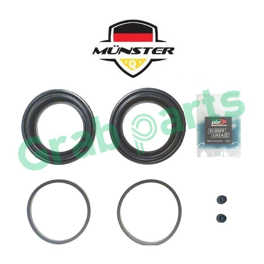 Mnster Disc Brake Caliper Repair Kit Front for 55830-50J00X - 61mm Suzuki Grand Vitara Year 2005