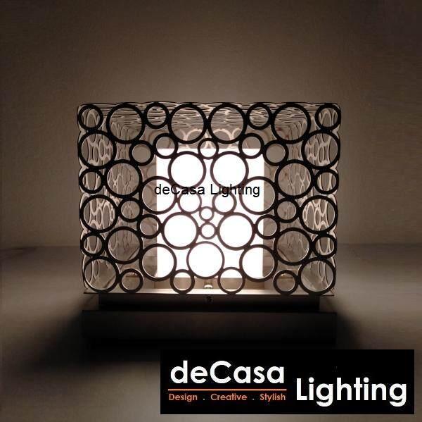 25cm x 25cm Metal Series Outdoor Gate Light Decasa Lighting Best Seller Outdoor Pillar Light Lampu Pagar Weather Proof Pillar Light (HA-0402-SQ-250)