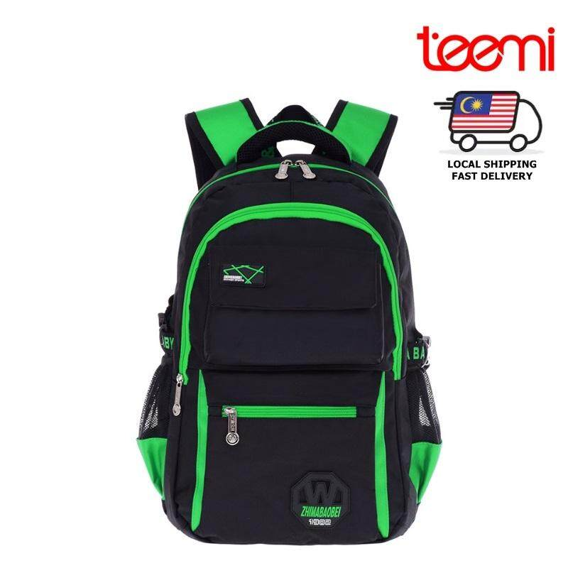 TEEMI Primary Secondary Nylon Water Resistant Orthopedic School Bag Kids Children Boy Girl Backpack