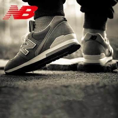 สอนใช้งาน  หนองคาย [จัดส่งฟรี] NEW BALANCE Retro Breathable พื้นผิวตาข่ายรองเท้าลำลอง