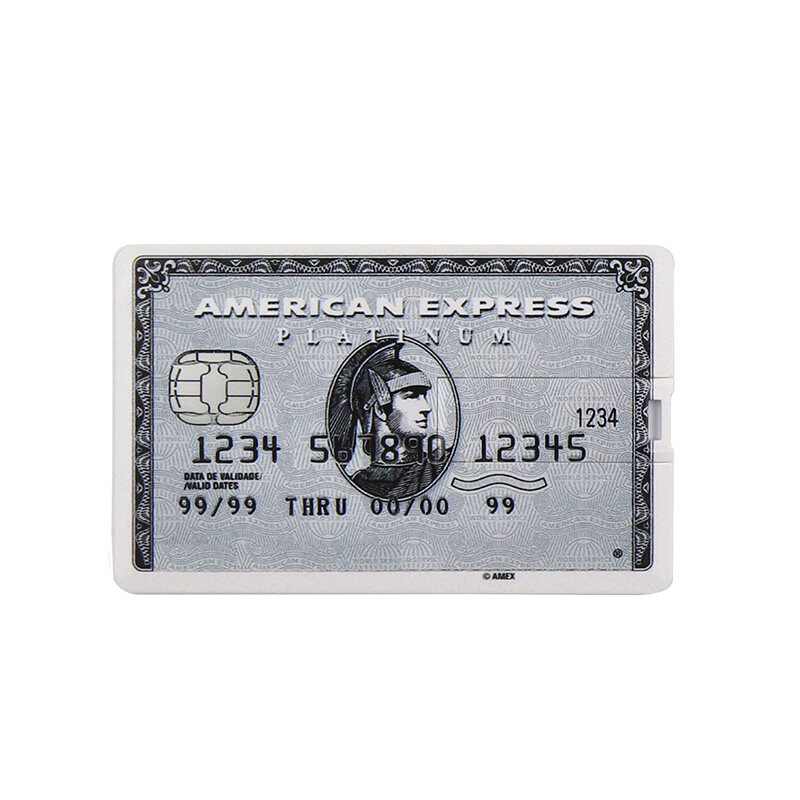 Thẻ Ngân Hàng Ổ USB Flash (Trên 30 Pcs Có Thể Tùy Chỉnh) PENDRIVE 32 GB 64 GB Bộ Nhớ HSBC Master Thẻ Tín Dụng Thẻ 16GB Ổ USB Nhỏ