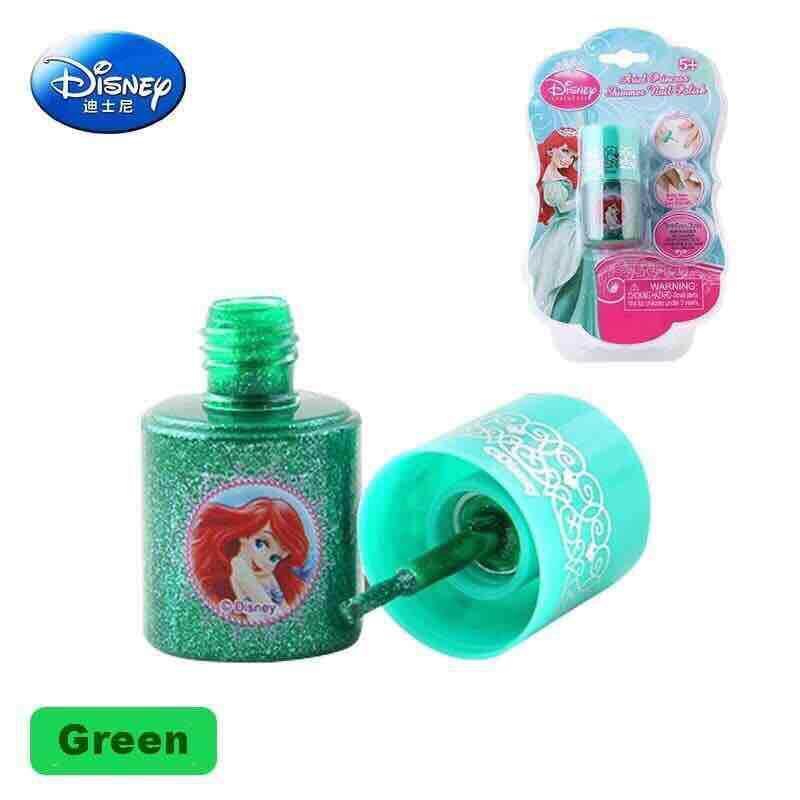 Disney Princess Kids Water-soluble Nail Polish Non Toxic Kids Cosmetic Manicure Kit