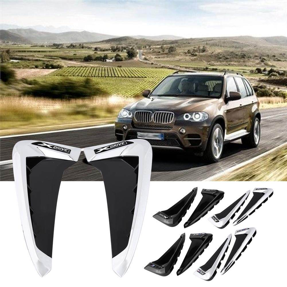 Car Covers - Car Front Fender Side Air Vent Cover Trim for BMW X5 F15  2014-2017 - [BLACK X5 / BLACK & SILVER X5 / BLACK X DRIVE / BLACK & SILVER  X