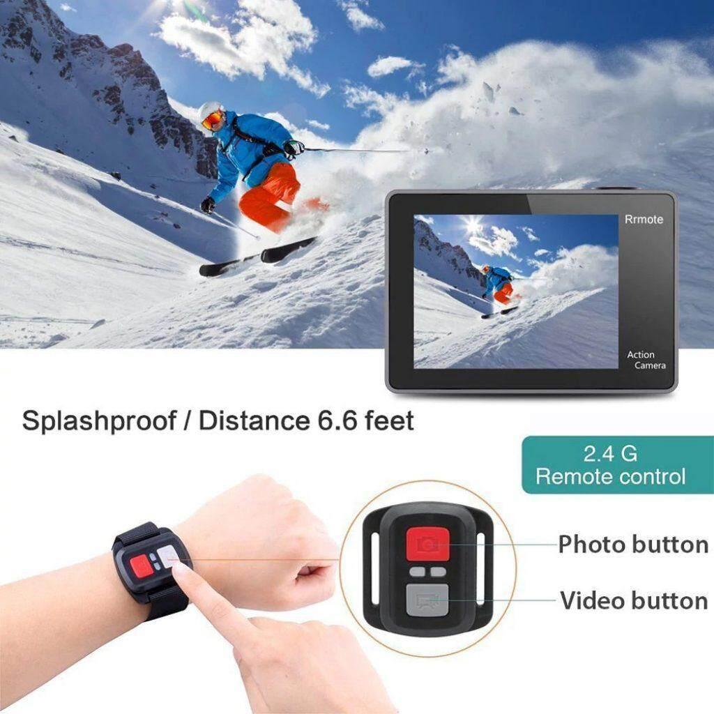 (EKEN) H9R Action camera Ultra HD 4K / 25fps WiFi 2.0 170D underwater waterproof Helmet Cam camera Sport cam