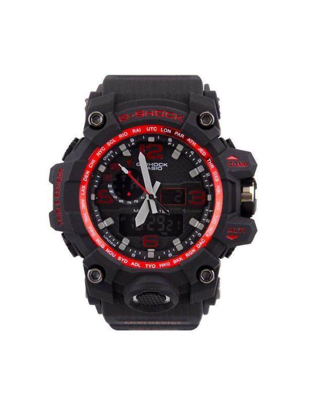{Special Promotion} Sport Casio G-Shock_MudMaster Dw-1523NB Dual Time Display Good Quality Rubber Strip Long Life Battery Fashion Come With Own Gift Box For Men