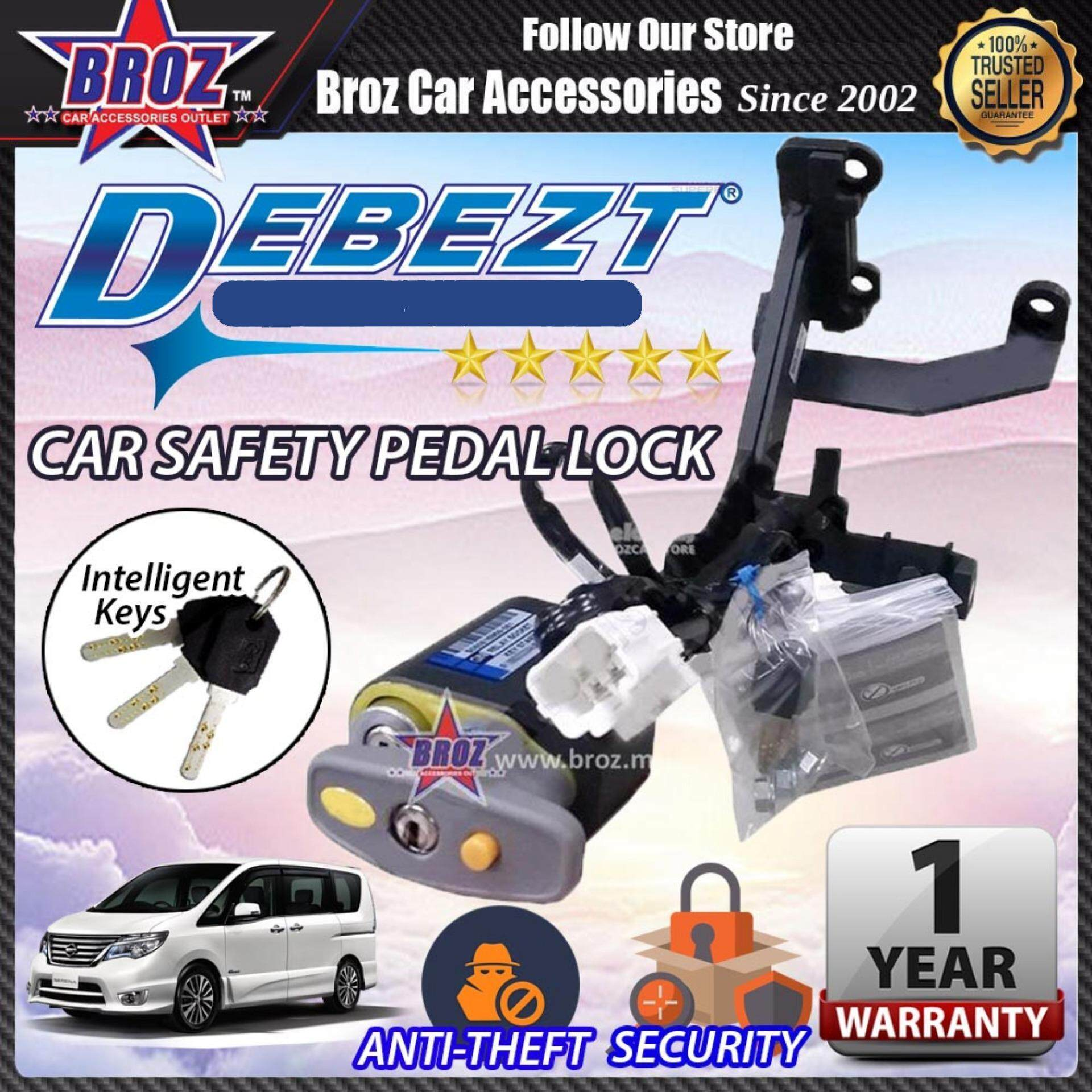 Serena 2013-2017 Debezt Auto Push Start Anti Theft Double Pedal Lock