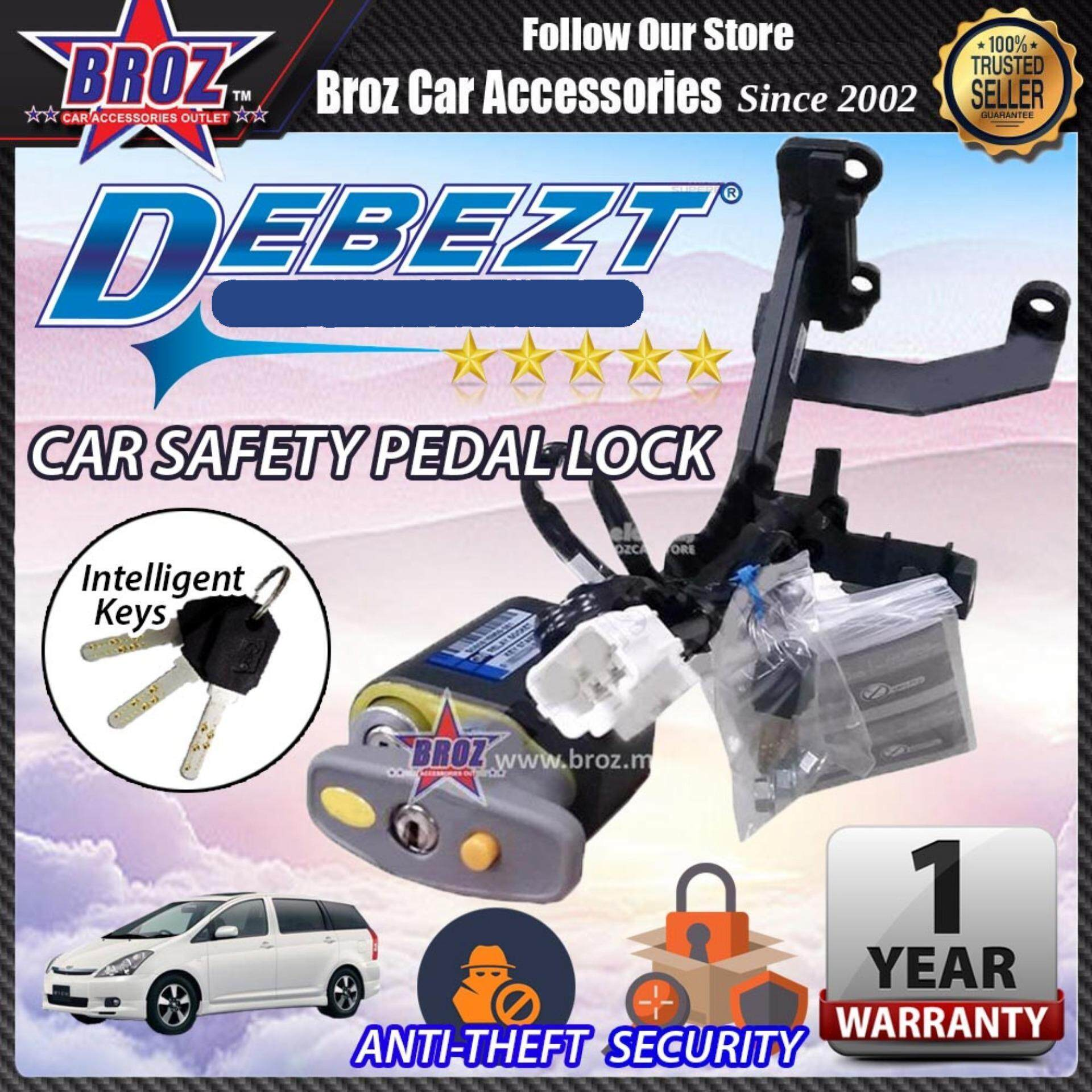 Wish 2003-2008 Debezt Auto Key Start Anti Theft Double Pedal Lock