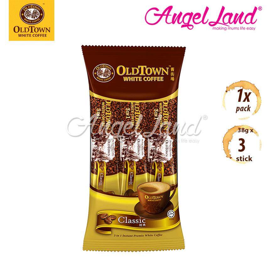 OLDTOWN White Coffee 3-in-1 Classic Instant Premix White Coffee Convenient Pack (3'S X 1)