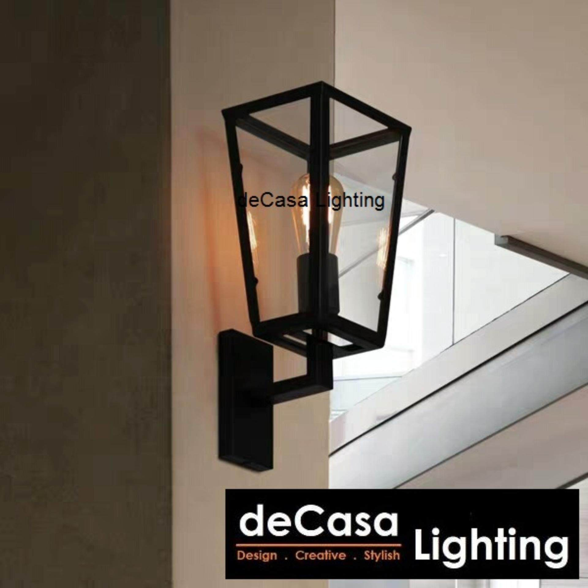 Decasa Lighting Best Seller Decorative Wall Lights (Black) DECASA WALL LIGHT (LY-RQY-001)