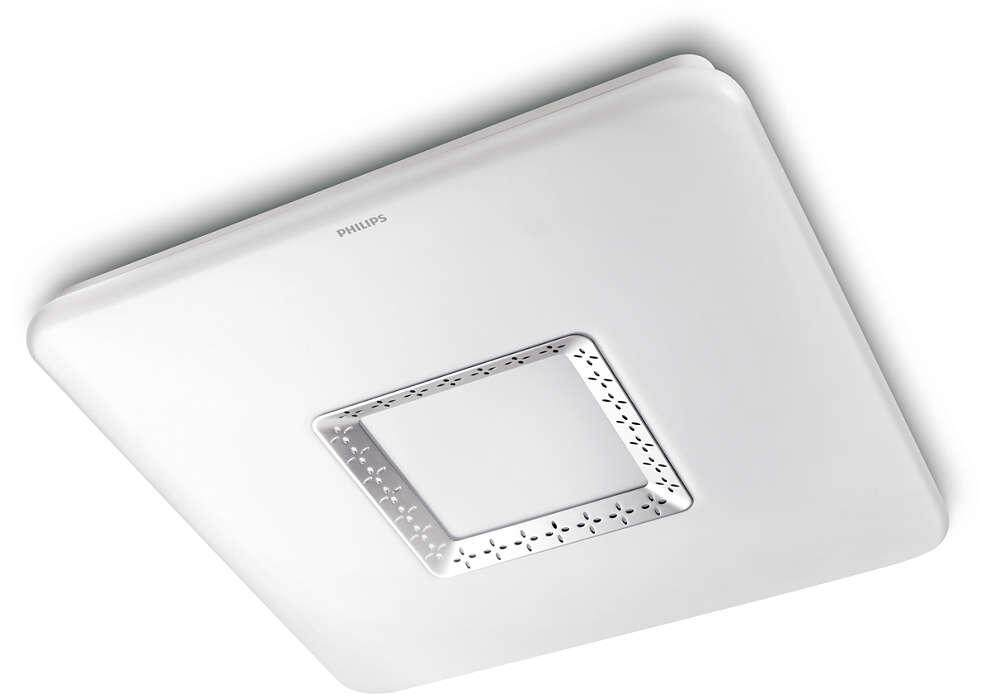 PHILIPS 61352 Square LED ceiling 40W
