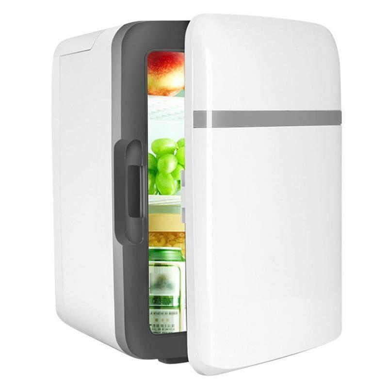 (Xám) congshuo ELEC 10L Mini Di Động Làm Mát Ấm Lên Tủ Lạnh Tủ Lạnh Ngăn Đông Mát Du Lịch Nóng Cho Xe Ô Tô Tự Động Nhà Văn Phòng Dã Ngoại Ngoài Trời du Lịch