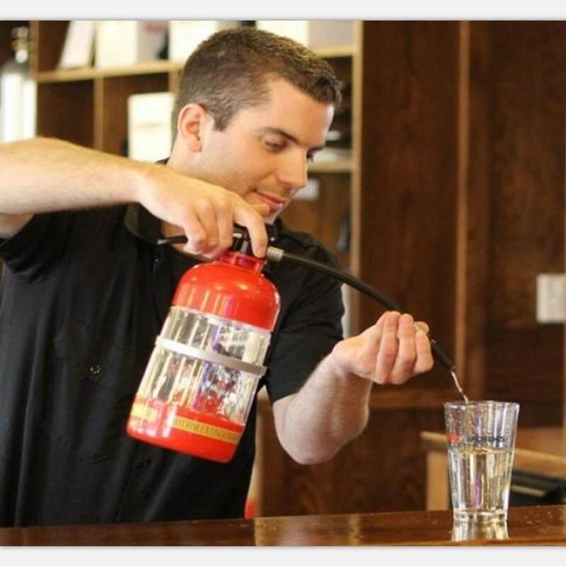 Fire Safety - 1.8L Fire Extinguisher Cocktail Booze Shaker Drink Pump Beer Wine Beverage