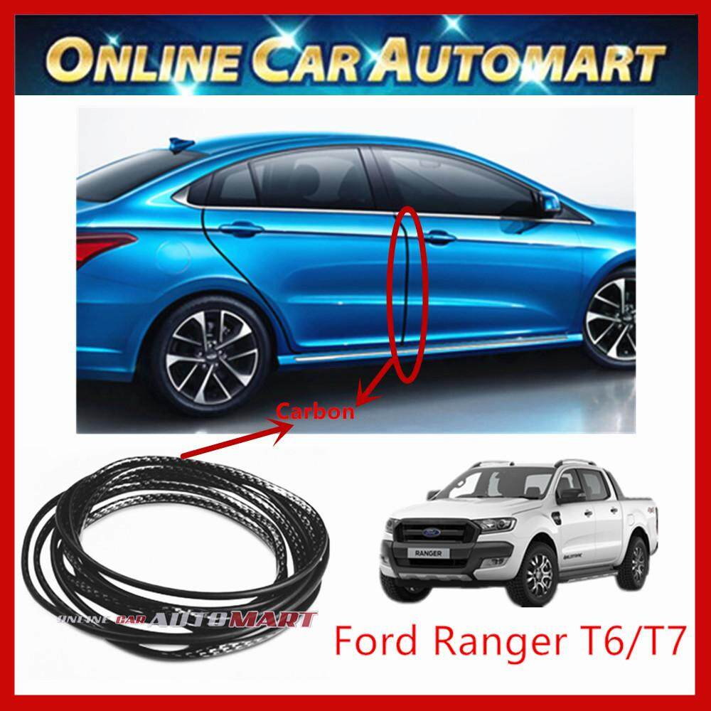 Ford Ranger T6 T7 16FT/5M (Carbon)Moulding Trim Rubber