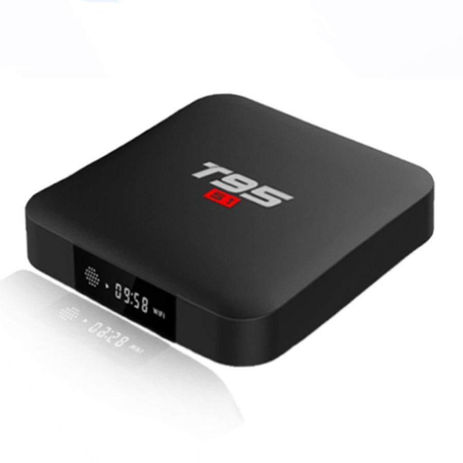 บัตรเครดิตซิตี้แบงก์ รีวอร์ด  แม่ฮ่องสอน Crazy DEAL Android 7.1 กล่องทีวี T95S1 สมาร์ททีวีอินเตอร์เน็ทกล่อง Amlogic S905W Quad Core 1 GB/8 GB