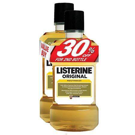 Listerine Original (750ml X 2)