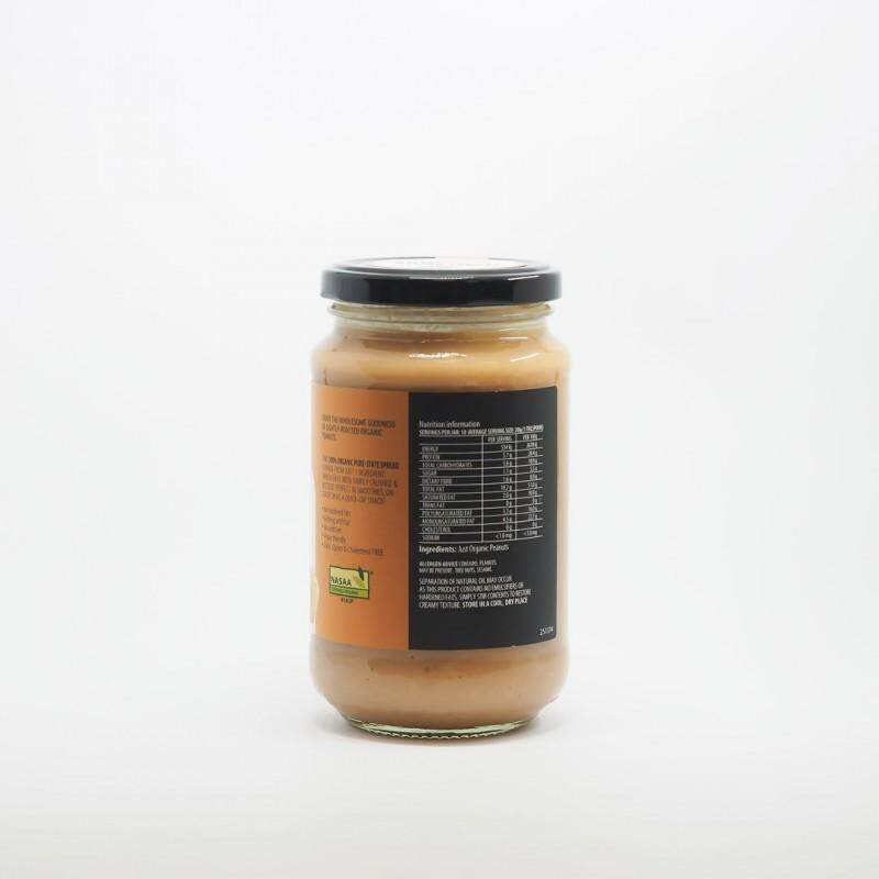 Country Farms Organic Peanut Butter Crunchy - 375g [Product of Australia, Certified by NASAA]