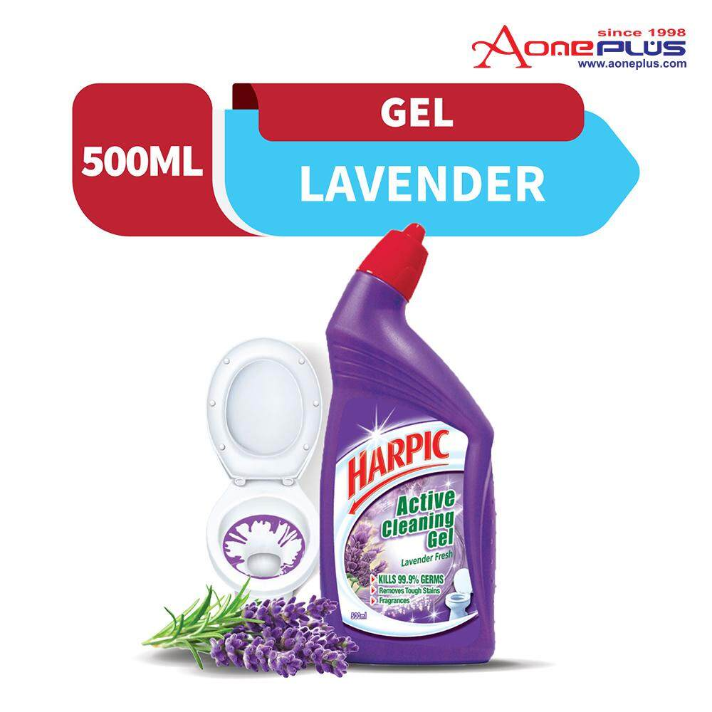 Harpic Lavender Active Cleaning Gel 500ml