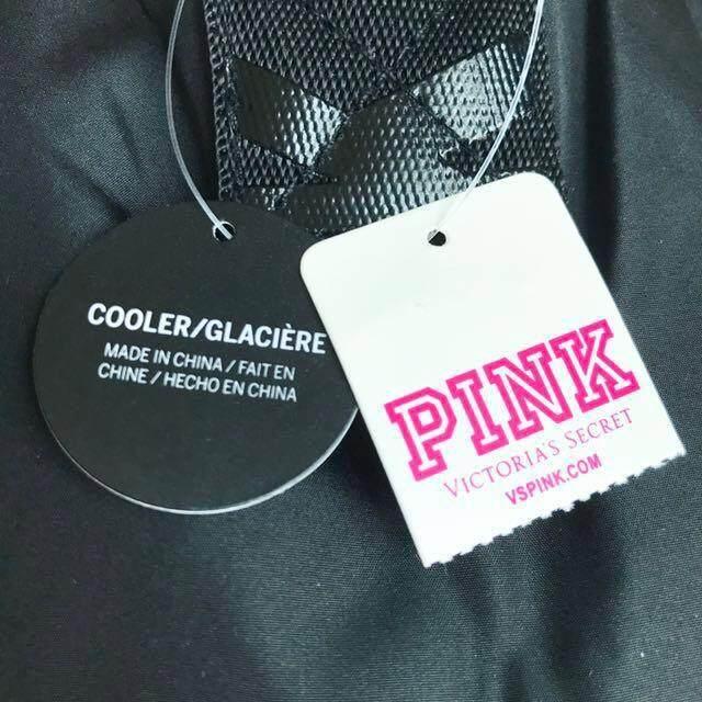 Victoria's Secret Pink Pineapple Shaped Cooler Bag