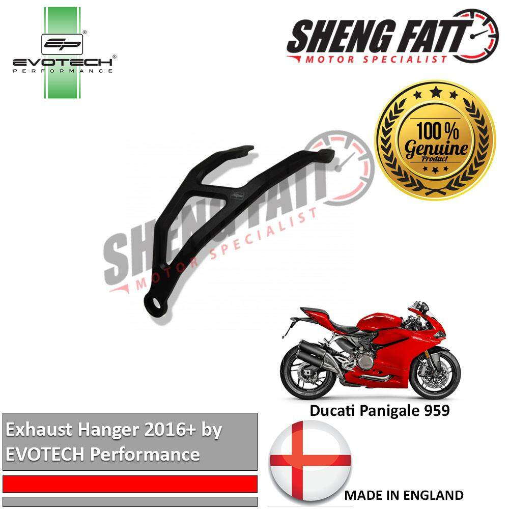 DUCATI 959 Panigale 2016+ Exhaust Hanger by Evotech Performance (BUN002392)