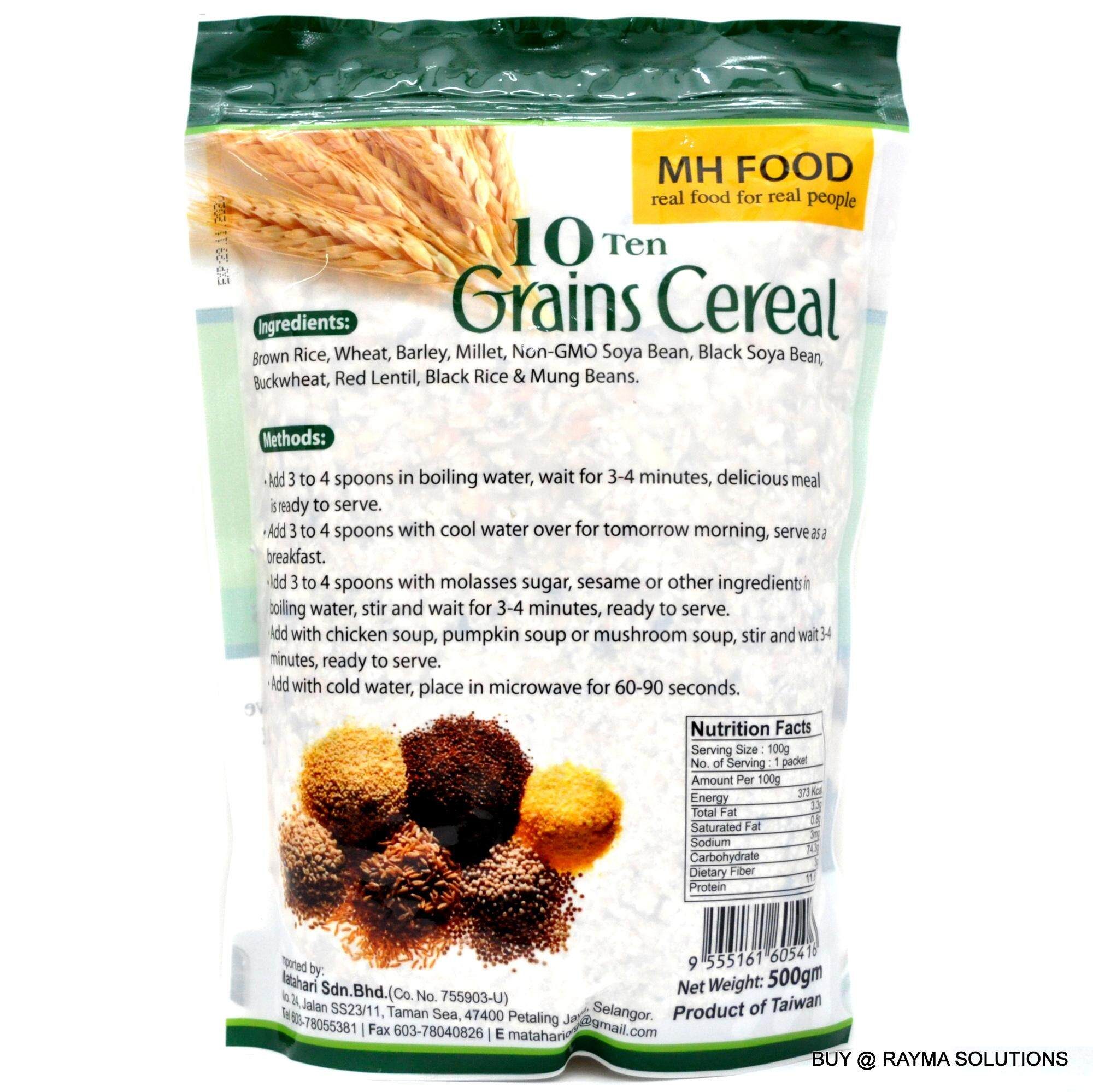 [Best Deal] MH FOOD 10 Grains Cereal, 500g (6 Packs)
