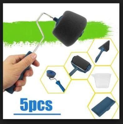 5 in 1 Handle Brush Paint Runner Pro Roller Brush Set