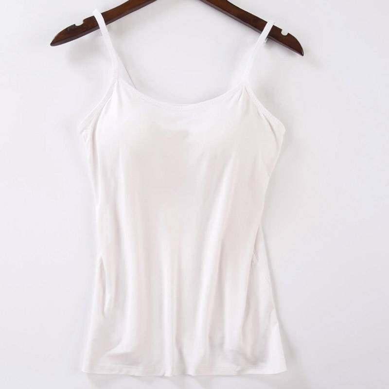 Nữ Thời Trang Xe Tăng Mềm Với Miếng Đệm Ngực Thể Thao Trang Chủ Áo Yếm