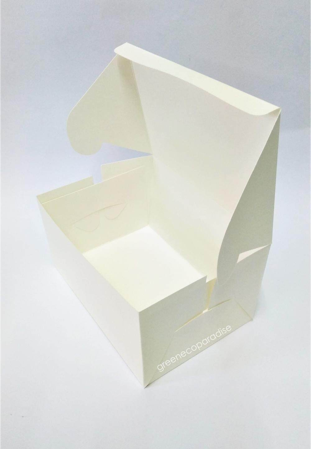 Paper Cake Box [White] 20 pieces/packet