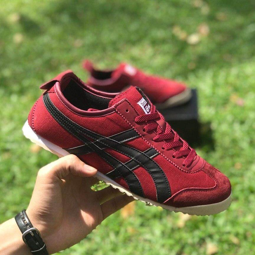 sports shoes 4df89 d1f50 ONITSUKA TIGER MAROON 41-45 EURO SNEAKERS