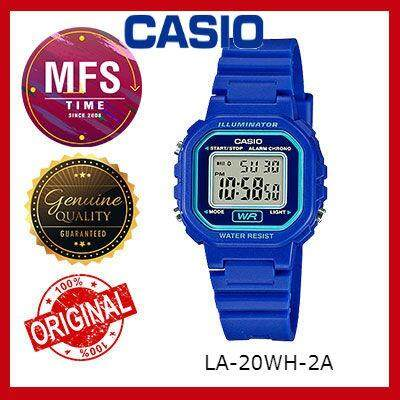 (2 YEARS WARRANTY) CASIO ORIGINAL LA-20WH-2A DIGITAL KID'S WATCH