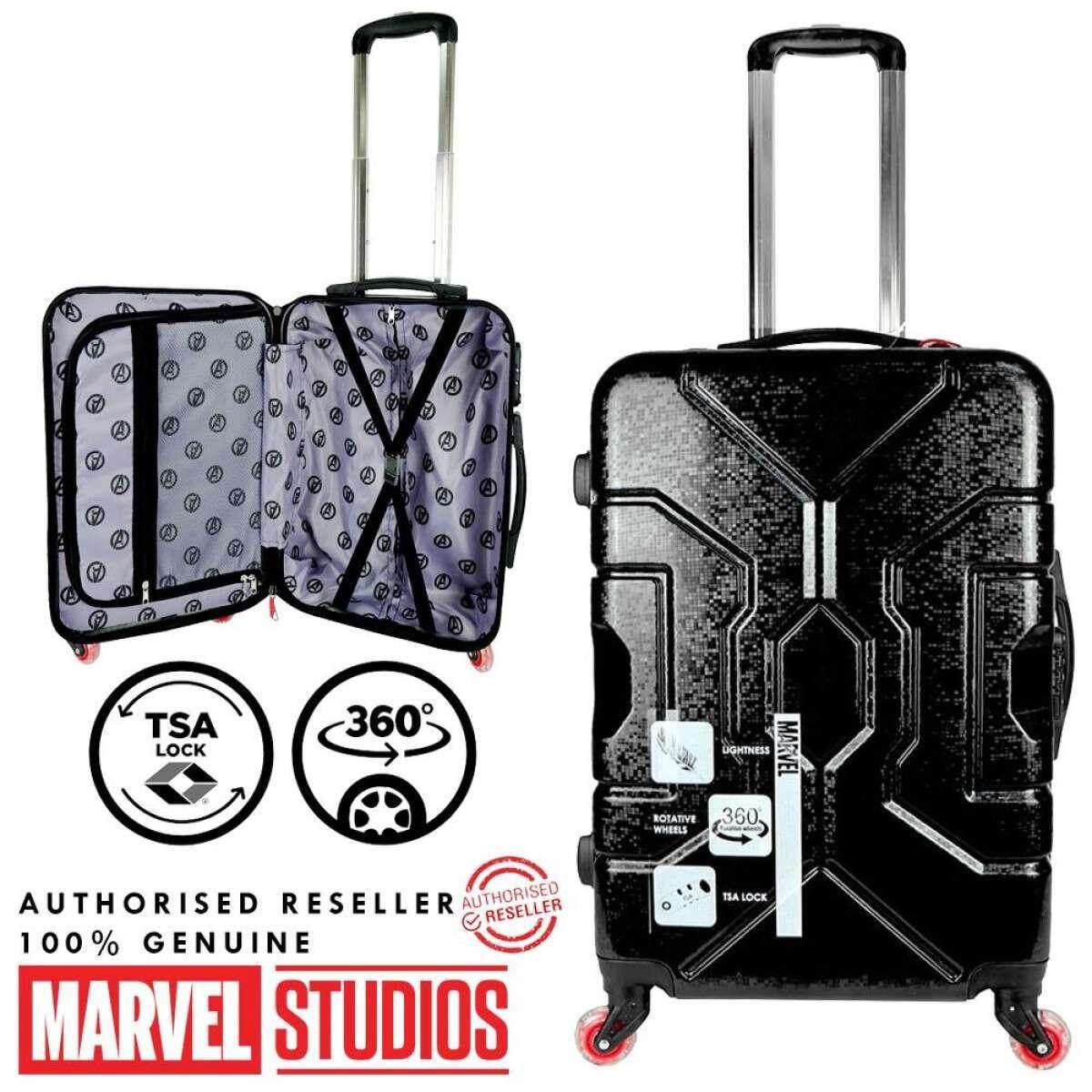 MARVEL VAA1890 Elegant Hard Case PC Hardcase Luggage Bagasi With LED (100% AUTHORISED RESELLER)