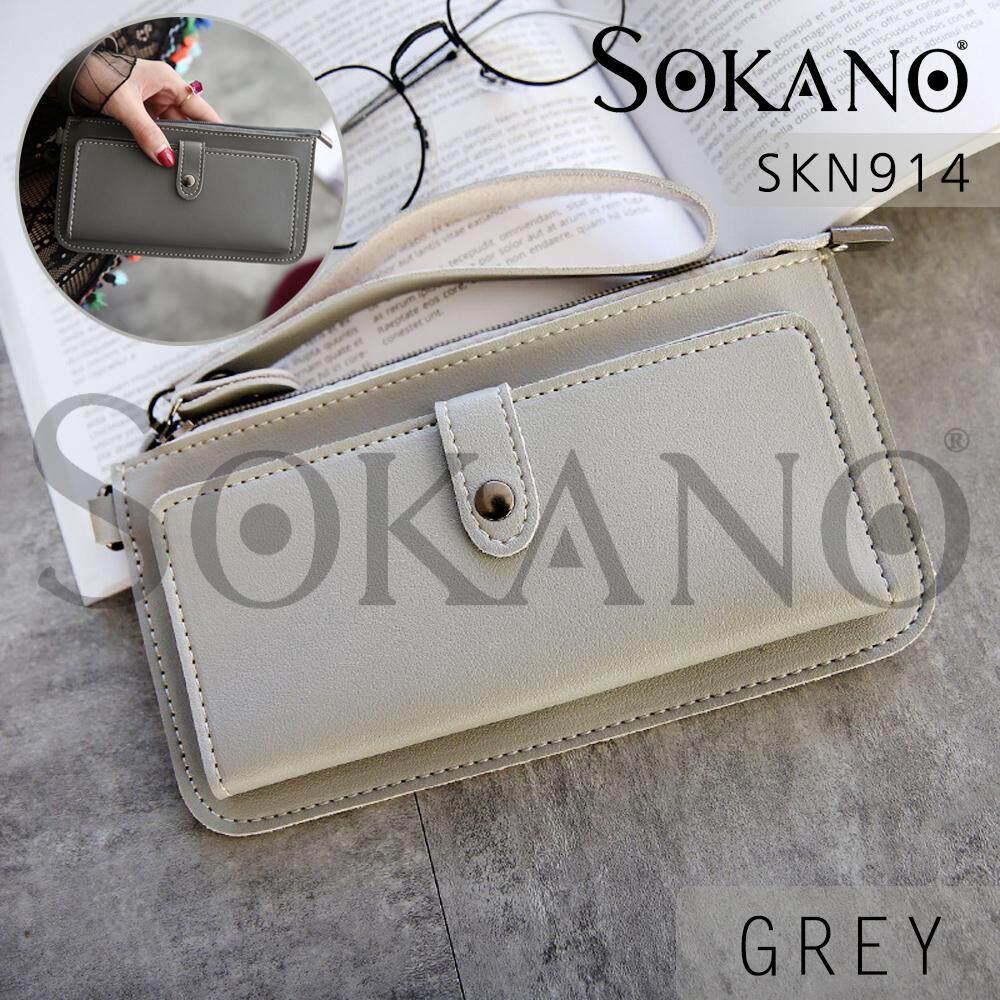 SoKaNo Trendz SKN914 Korean Style Woman Wallet Handy Pouch Handbeg Wanita