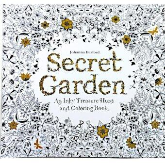 1pcs Secret Garden 2016 New An Inky Treasure Hunt AndColoring Book For Children
