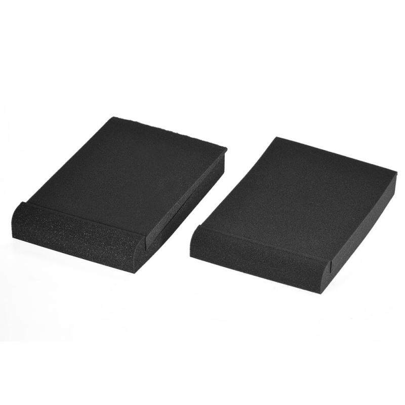 2 Pack Studio Monitor Speaker Isolation Acoustic Foam Pads Max. 9.6 * 7.7 Usable Area Malaysia