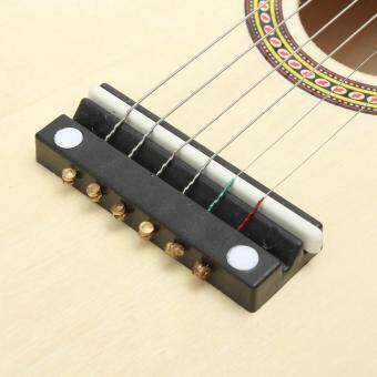 21 inch 6 String Beginners Practice Acoustic Basswood Guitar Musical Instrument