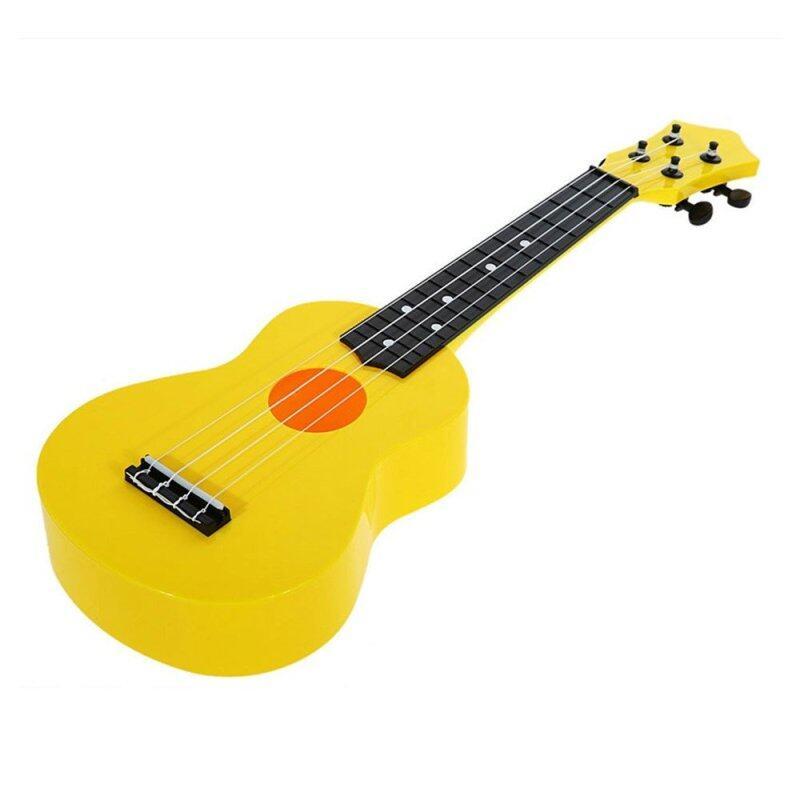 21-inch High-grade Teaching Guitar Ukulele Toys for Kid Children Gift (Yellow) Malaysia