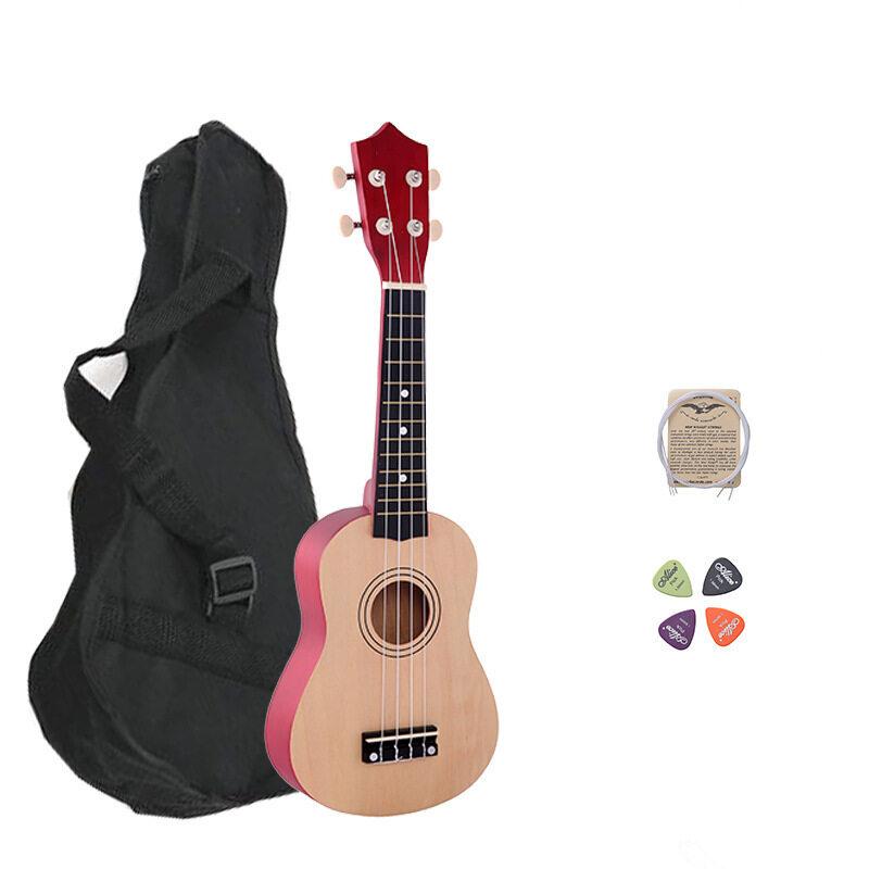 21 Inch Wood Concert Ukulele with Free Bag Spare String Ukulele Pick Malaysia