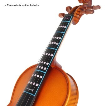 Harga 4/4 Violin Fiddle Finger Guide Fingerboard Sticker Label IntonationChart Fretboard Marker for Practice Beginners Outdoorfree