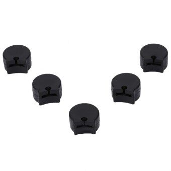 features 5 pcs comfortable practical rubber clarinet thumb rest