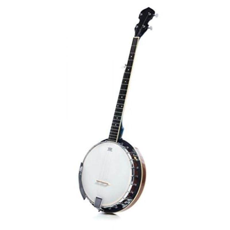 5 String Resonator Beginner Banjo with 24 Brackets  Closed Back and Geared 5th Tuner  Resoluute Malaysia